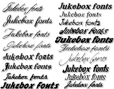 Jukebox Fonts