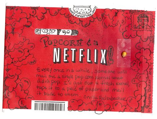 Popcorn and a Netflix