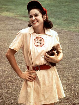 Madonna as Mae Mordabito in A League of their Own
