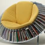Sunflower Chair Furniture: A Bookworm's Paradise