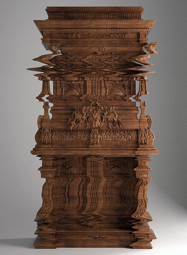 Good Vibrations Cabinet by Ferruccio Lavianni