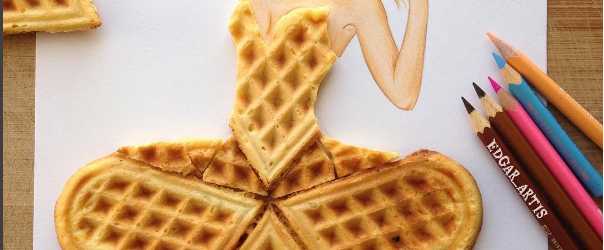 edgar artis waffle dress papercut